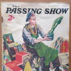 Coleccionismo de Revistas y Periódicos: REVISTA THE PASSING SHOW (EN INGLES) Nº 12 JUNIO 1932 PUBLICIDAD DE EPOCA. Lote 109551091