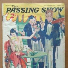 Coleccionismo de Revistas y Periódicos: REVISTA THE PASSING SHOW (EN INGLES) Nº 20 AGOSTO 1932 PUBLICIDAD DE EPOCA. Lote 109551243