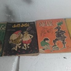 Coleccionismo de Revistas y Periódicos: LOTE DE REVISTAS DE 4 REVISTAS- DON JOSÉ- DE LOS AÑOS 1950. Lote 109583155