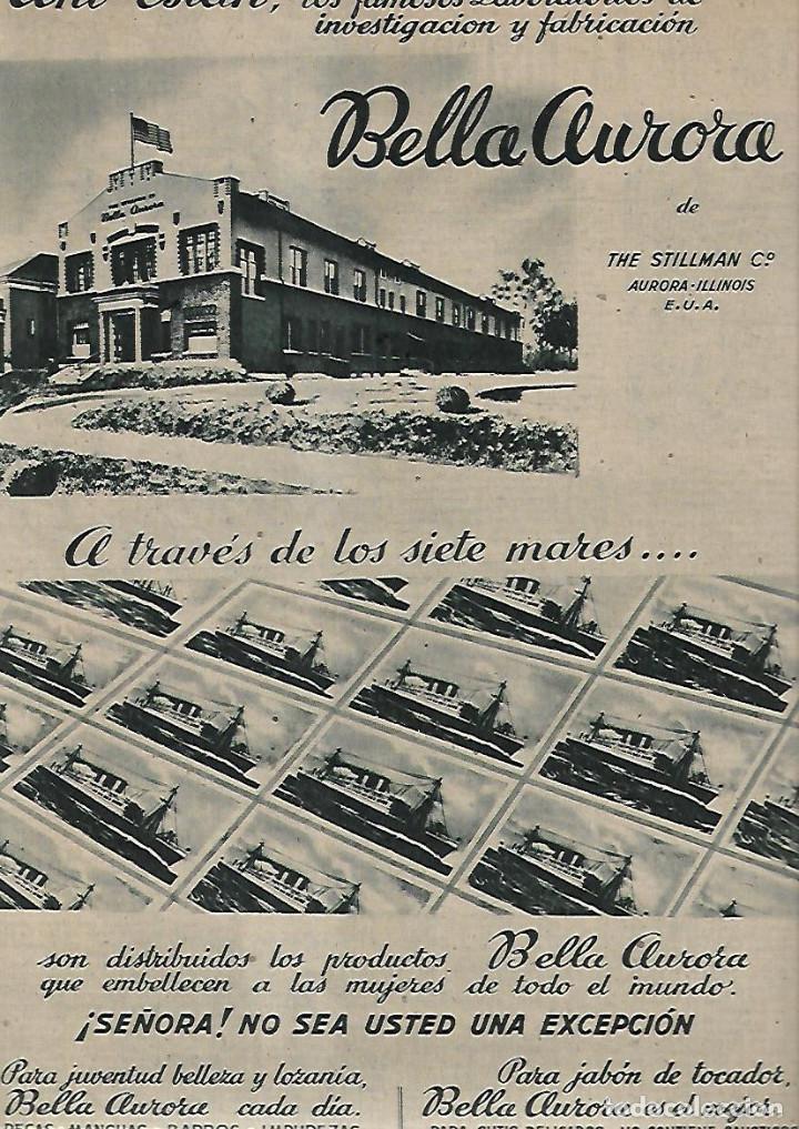 Coleccionismo de Revistas y Periódicos: AÑO 1947 RAMON GONZALEZ DE AMEZUA ORGANISTA MUSICA BELLA AURORA DOCTOR CARDENAL MEDICINA FEO PERRO - Foto 2 - 109609143