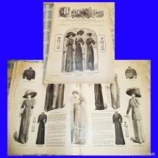 Coleccionismo de Revistas y Periódicos: LA MODA ELEGANTE 1911 REVISTA 4  - - MIRALA. Lote 109626639