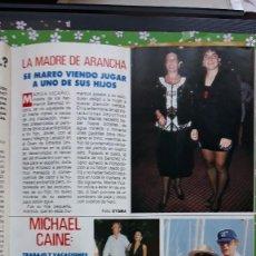 Coleccionismo de Revistas y Periódicos: MICHAEL CAINE ARANCHA SANCHEZ VICARIO . Lote 109634343