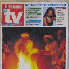 Coleccionismo de Revistas y Periódicos: SEMANAL TV 356 1994 LOLITA, CARLOS FUENTES,. Lote 109758015