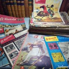 Coleccionismo de Revistas y Periódicos: LOTE DE 59 REVISTAS TAURINAS EL RUEDO - AÑOS 60, PRINCIPALMENTE 1967,68 Y 69. . Lote 109876827