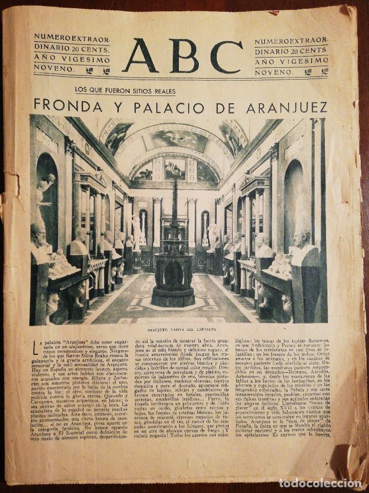 PERIÓDICO ABC DOMINGO 4 DE JUNIO DE 1933. EDICIÓN DE LA MAÑANA (Coleccionismo - Revistas y Periódicos Antiguos (hasta 1.939))