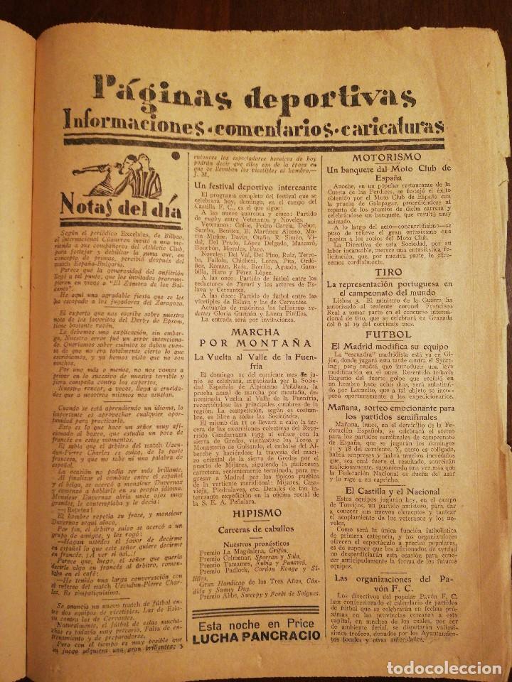 Coleccionismo de Revistas y Periódicos: PERIÓDICO ABC Domingo 4 de Junio de 1933. Edición de la mañana - Foto 2 - 110005455