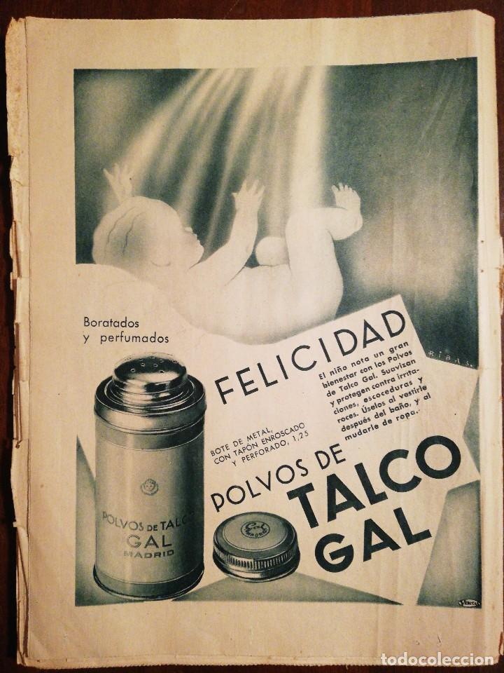 Coleccionismo de Revistas y Periódicos: PERIÓDICO ABC Domingo 4 de Junio de 1933. Edición de la mañana - Foto 3 - 110005455