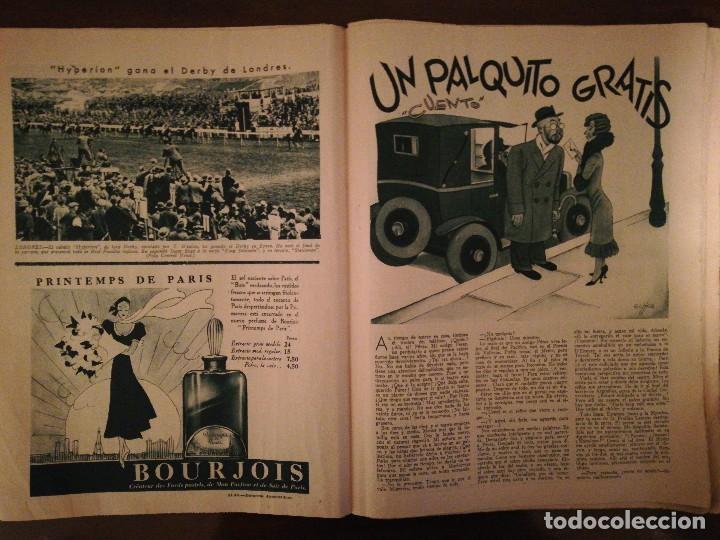 Coleccionismo de Revistas y Periódicos: PERIÓDICO ABC Domingo 4 de Junio de 1933. Edición de la mañana - Foto 4 - 110005455