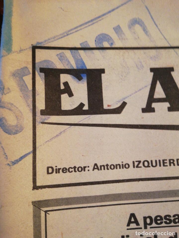 Coleccionismo de Revistas y Periódicos: Lote de ocho (8) periódicos EL ALCÁZAR - Año 1981 - Foto 18 - 110012295
