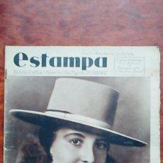 Coleccionismo de Revistas y Periódicos: ESTAMPA 340 AÑO 1934 MUJERES TORERAS BUSCADORES ORO CONCURSO BELLEZA ORIENTE MISS JAPON. Lote 110103219