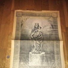 Coleccionismo de Revistas y Periódicos: RÉPLICA PROGRAMA FIESTA DEL PILAR 1895 HERALDO DE AARAGON. Lote 110156894