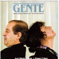 Coleccionismo de Revistas y Periódicos: GENTE. MADONNA. PEQUEGUAY. LALY RUIZ. PALOMA PICASSO. 1993. Lote 110248315