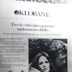 Coleccionismo de Revistas y Periódicos: ANUNCIO CHAMPU KLORANE . Lote 110278779