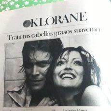 Coleccionismo de Revistas y Periódicos: ANUNCIO CHAMPU KLORANE . Lote 110278795