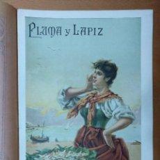 Coleccionismo de Revistas y Periódicos: REVISTA PLUMA Y PAIZ Nº 3 NOVIEMBRE 1900 TOLEDO 19 X 28 CM (APROX) 10 PAGINAS. Lote 110287875