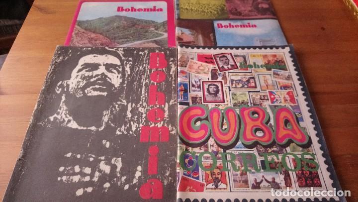 LOTE 4 REVISTAS BOHEMIA (Coleccionismo - Revistas y Periódicos Modernos (a partir de 1.940) - Otros)