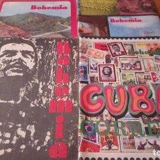 Coleccionismo de Revistas y Periódicos: LOTE 4 REVISTAS BOHEMIA. Lote 110303835