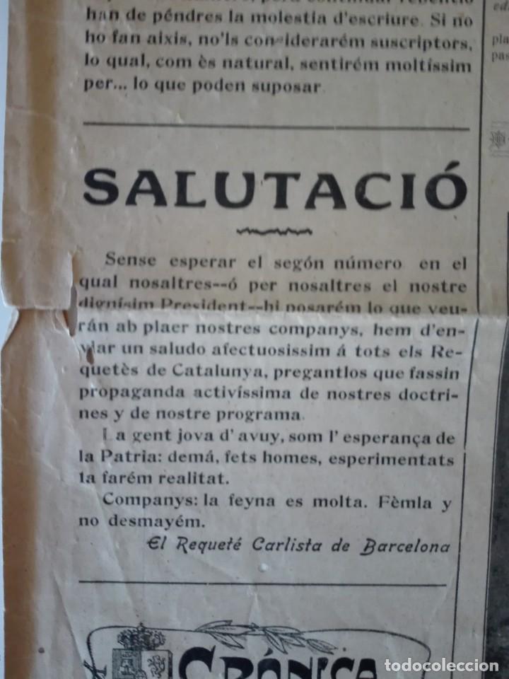 Coleccionismo de Revistas y Periódicos: El Mestre Titas. Barcelona 4 de Janer de 1910. Any 1, Num. 1 . Tercera época. Barcelona , Manresa - Foto 2 - 110366931