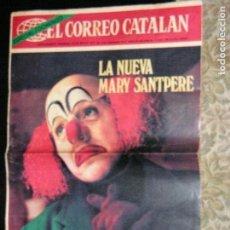 Coleccionismo de Revistas y Periódicos: F 1 EL CORREO CATALAN AÑO 1971. Lote 110483659