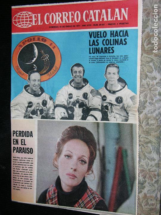 F 1 EL CORREO CATALAN Nº29037 AÓ 1971 (Coleccionismo - Revistas y Periódicos Modernos (a partir de 1.940) - Otros)