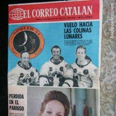 Coleccionismo de Revistas y Periódicos: F 1 EL CORREO CATALAN Nº29037 AÓ 1971. Lote 110560019