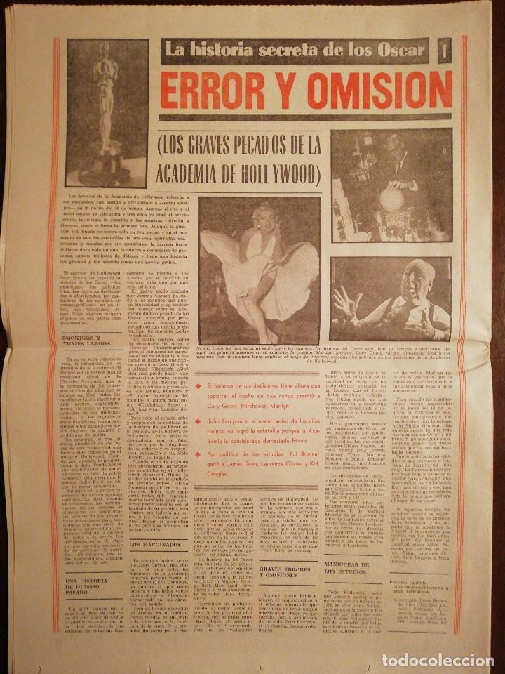 Coleccionismo de Revistas y Periódicos: Periódico Pueblo - El atentado contra el Teniente Coronel Romeo - Marzo de 1981 - Foto 4 - 110566583