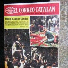 Coleccionismo de Revistas y Periódicos: F 1 EL CORREO CATALAN Nº 29147 AÑO 1971. Lote 110574219