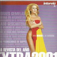 Coleccionismo de Revistas y Periódicos: INTERVIU EXTRA 2001. Lote 110612375