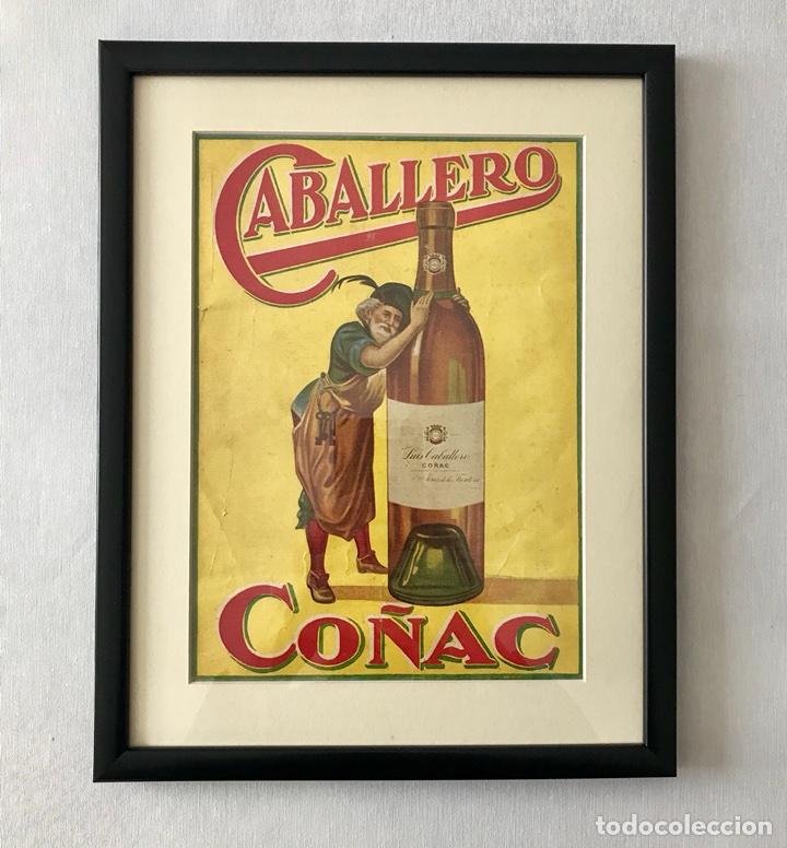 PUBLICIDAD ENMARCADA,DE COÑAC CABALLERO AÑOS 30 (Coleccionismo - Revistas y Periódicos Antiguos (hasta 1.939))