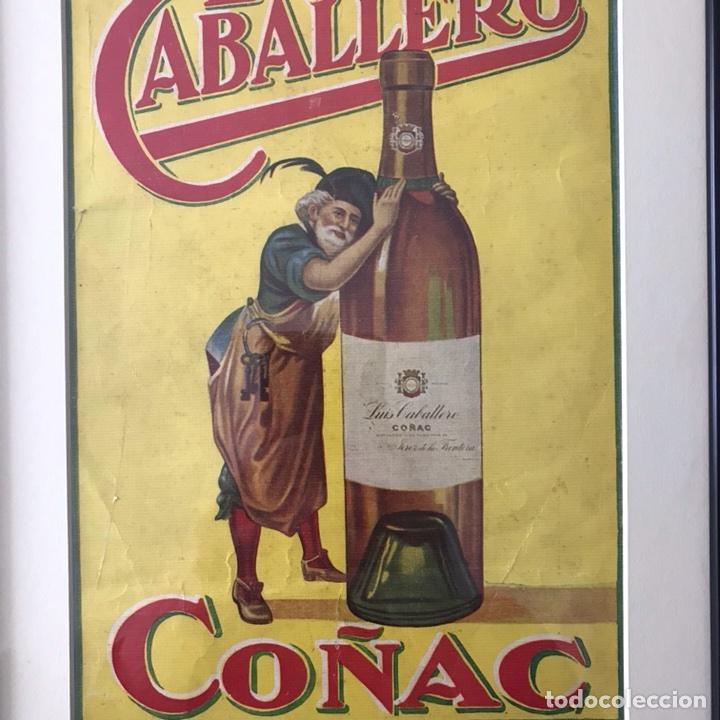 Coleccionismo de Revistas y Periódicos: Publicidad enmarcada,de Coñac Caballero años 30 - Foto 2 - 106933931