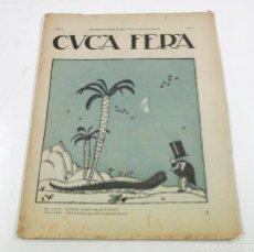 Coleccionismo de Revistas y Periódicos: CUCA FERA, AÑO 1917. NUM.1 - ANY 1. 22X28CM.. Lote 110629575