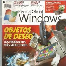 Coleccionismo de Revistas y Periódicos: REVISTA OFICIAL WINDOWS 58. Lote 110658107