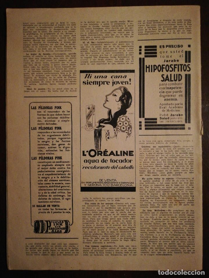 Coleccionismo de Revistas y Periódicos: Revista LA MODA PRÁCTICA ILUSTRADA 20 de Mayo de 1929 - n°868 - Foto 2 - 110687939