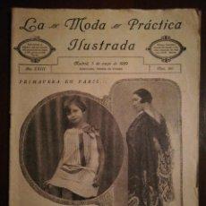 Coleccionismo de Revistas y Periódicos: REVISTA LA MODA PRÁCTICA ILUSTRADA 5 DE MAYO DE 1929 - N°867. Lote 110687991