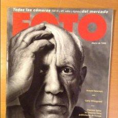 Coleccionismo de Revistas y Periódicos: REVISTA FOTO Nº 183 MARZO 1998 (ARNOLD NEWMAN, GARRY WINOGRAND). Lote 110725755