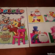 Coleccionismo de Revistas y Periódicos: PETETE REVISTA N'108,TARJETAS MULTIUSO. Lote 110819414