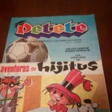 Coleccionismo de Revistas y Periódicos: PETETE REVISTA N'171,CUENTO AVENTURAS DE HIJITUS N'2. Lote 110824390