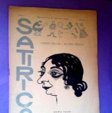 Coleccionismo de Revistas y Periódicos: SATIRICÓN - Nº 2 - 1913 - REVISTA LITERATURA ARTES Y MALAS COSTUMBRES . Lote 110879063
