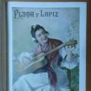 Coleccionismo de Revistas y Periódicos: REVISTA PLUMA Y LAPIZ Nº 39 JULIO 1901 19 X 28 CM (APROX) 10 PAGINAS. Lote 110962767