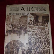 Coleccionismo de Revistas y Periódicos: ABCE I SEPTIEMBRE 1942 EL CAUDILLO EN ASTURIAS. Lote 111048547