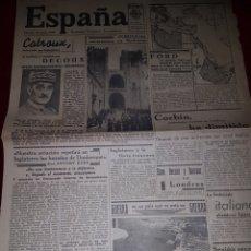 Coleccionismo de Revistas y Periódicos: ESPAÑA 27 JUNIO 1940 2 GUERRA. Lote 111052456