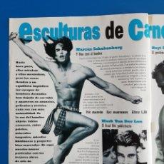 Coleccionismo de Revistas y Periódicos: MARCUS SCHENKENBERG+MARK VAN DER LOO+CAMERON+TAKE THAT+OASIS+BLUR - RECORTE 1996. Lote 111084590