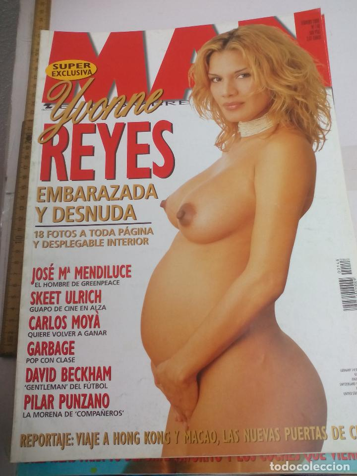 Revista Man Nº 148 Ivonne Reyes Embarazada Des Sold Through