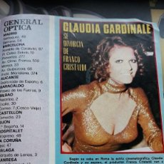 Coleccionismo de Revistas y Periódicos: CLAUDIA CARDINALE . Lote 111190715