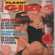 Coleccionismo de Revistas y Periódicos: FLASH GIRLS # 1 / 1992 ~ ZARA WHITES ~ VER FOTOS. Lote 40357618