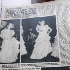 Coleccionismo de Revistas y Periódicos: CARMEN MORALES ANTONIO ROCIO DURCAL. Lote 111269439