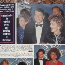 Coleccionismo de Revistas y Periódicos: ELIZABETH TAYLOR LIZ SOFIA LOREN ROGER MOORE ARNOLD SCHWARZENEGGER. Lote 254761265