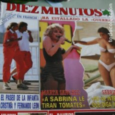 Coleccionismo de Revistas y Periódicos: LOLA FORNER VICKY LARRAZ SABRINA MARTA SANCHEZ ANA BELEN 1988. Lote 111328227