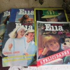 Coleccionismo de Revistas y Periódicos: ELLA 5 REVISTAS 1981. Lote 111331167