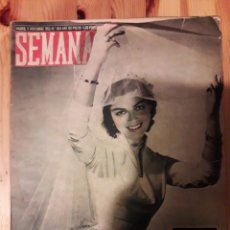 Coleccionismo de Revistas y Periódicos: SEMANA 1952 JULIA MILANS DEL BOSCH DE CAVESTANY. Lote 111386059